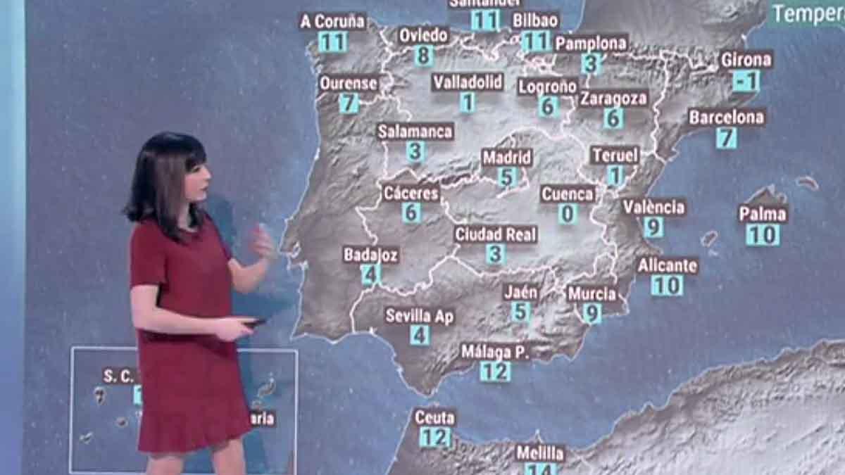 La semana arranca con vientos fuertes en el Cantábrico, Ampurdán y Baleares