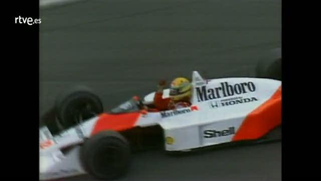 Conexión Vintage: Senna gana su primer mundial en el Gran Premio de Japón 88