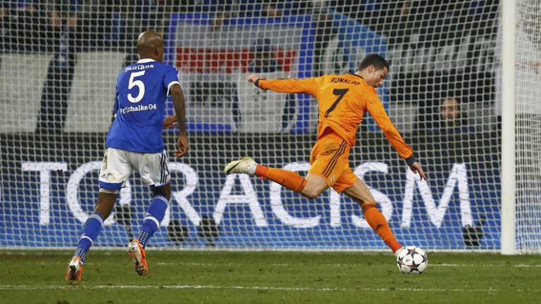 Shalke (1) - (6) Real Madrid (los goles del madrid desde otro punto de vista)