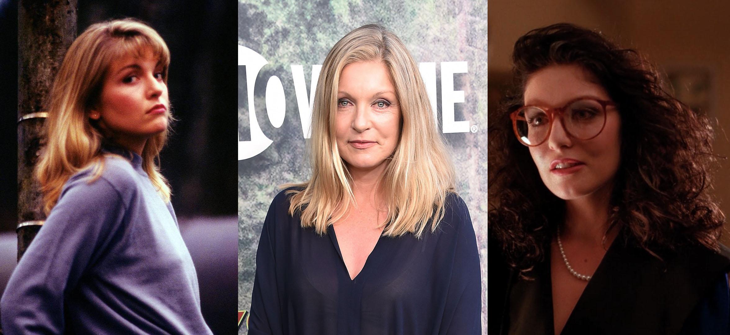 Sheryl Lee foi Laura Palmer e sua Prima Maddy Ferguson em 'gêmeos''Twin Peaks'