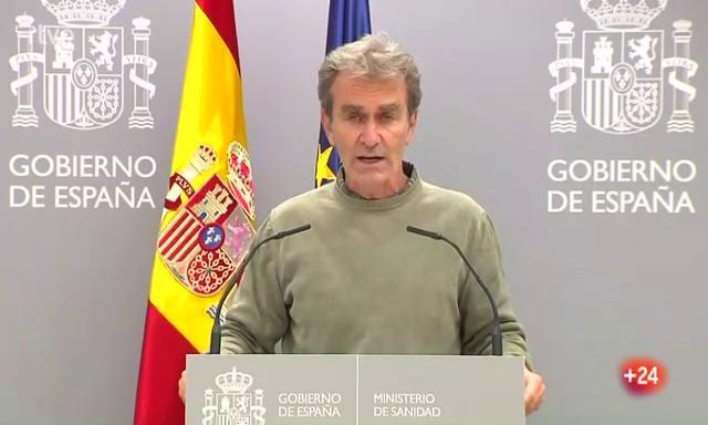 """Simón, sobre la pandemia en España: """"La evolución está siendo rápida y ascendente"""""""