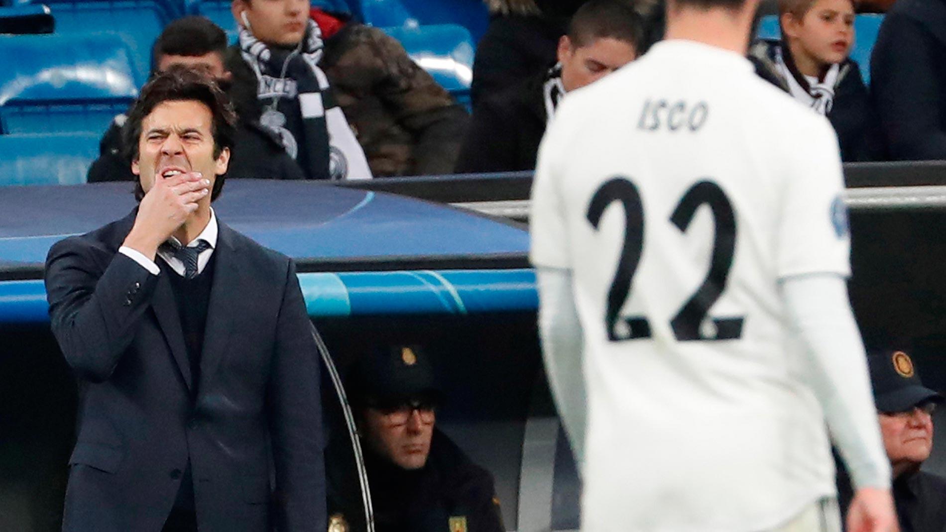 """Solari, sobre Isco: """"La afición se expresa porque no le gusta el resultado """""""