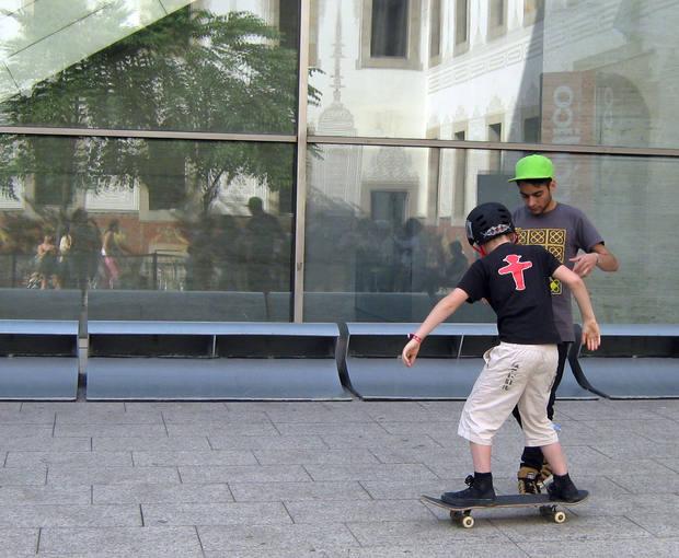 El skateboard gana interés a medida que se hacen grandes