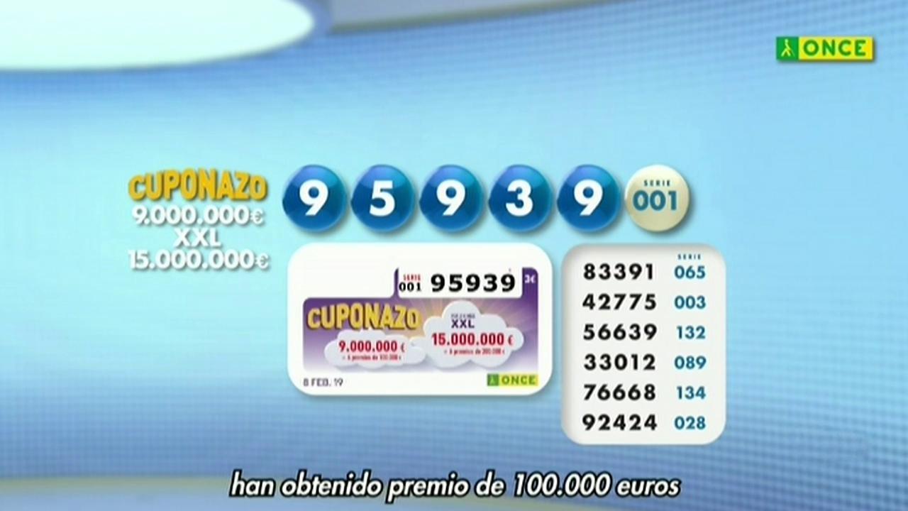 Sorteo ONCE - 08/02/19