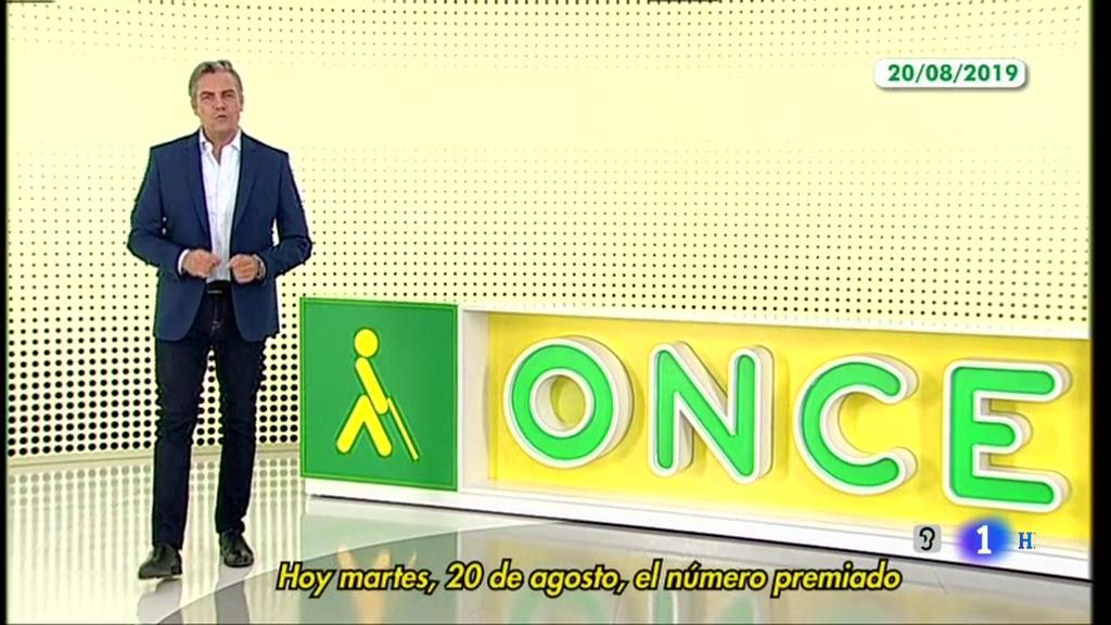 Sorteo ONCE - 20/08/19