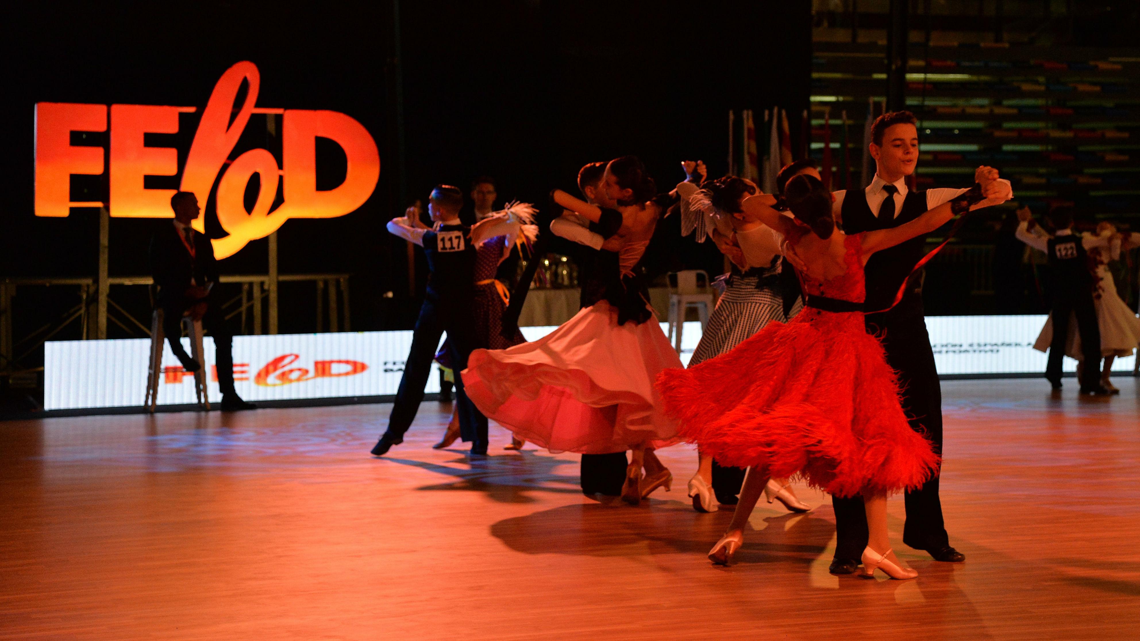 Spanish Open de Baile Deportivo. Guadalajara.4-9 de diciembre de 2018