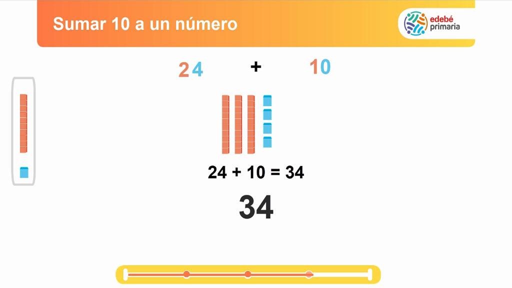 LÓGICA Y MATEMATICAS - Sumar 10 a un número