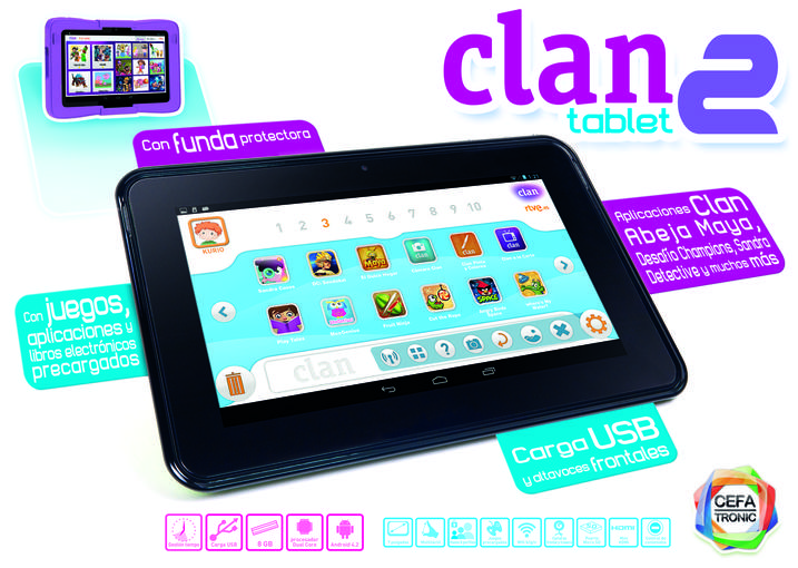 Tableta Clan 2