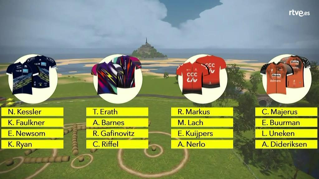 Tanja Erath gana la tercera etapa del Tour Virtual