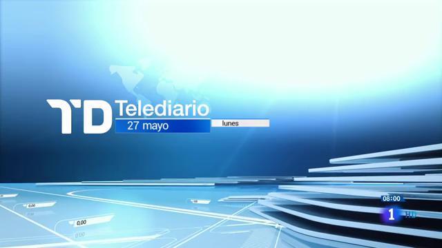 Telediario - 8 horas - 27/05/19