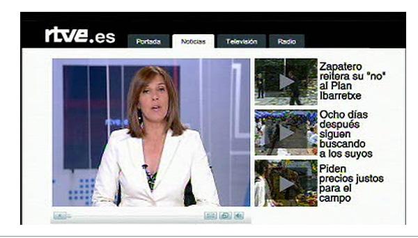 El Telediario, en cuatro minutos