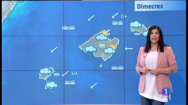 El temps a les Illes Balears - 24/04/18