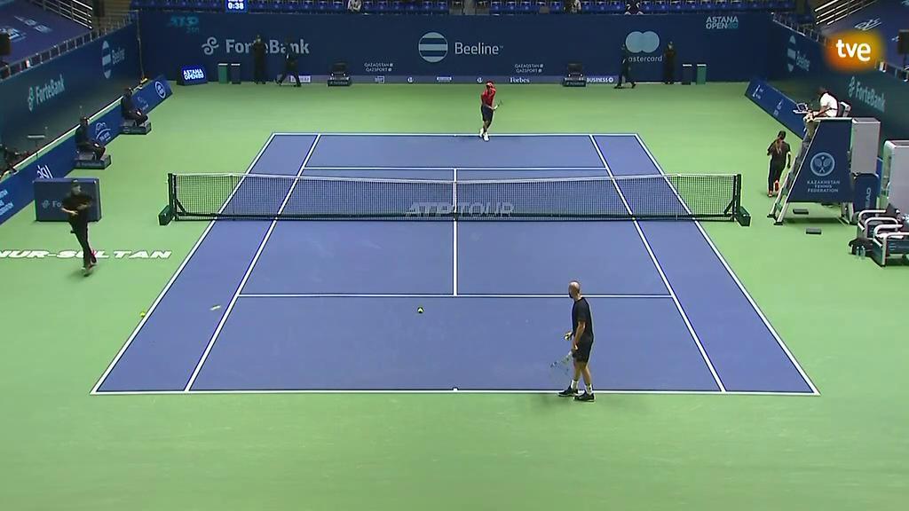 ATP 250 Torneo Astaná. 1/4 Final: Mannarino - McDonald