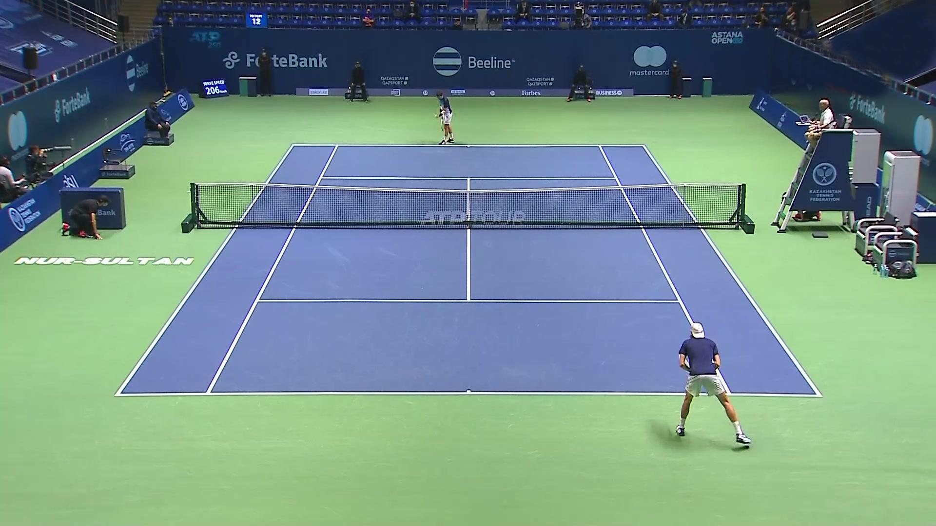 ATP 250 Torneo Astaná. 1/4 Final: Kukushkin - Ruusuvuori