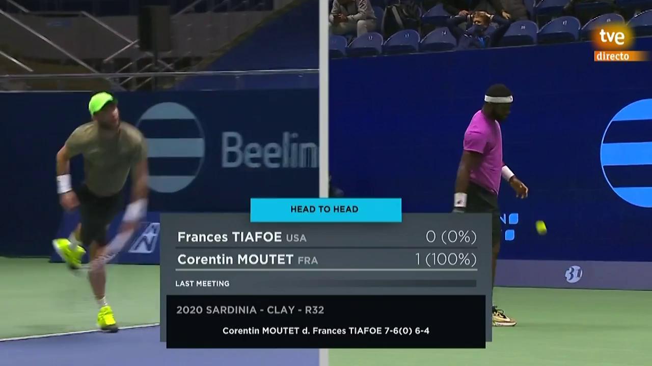 ATP 250 Torneo Astaná: Tiafoe - Moutet
