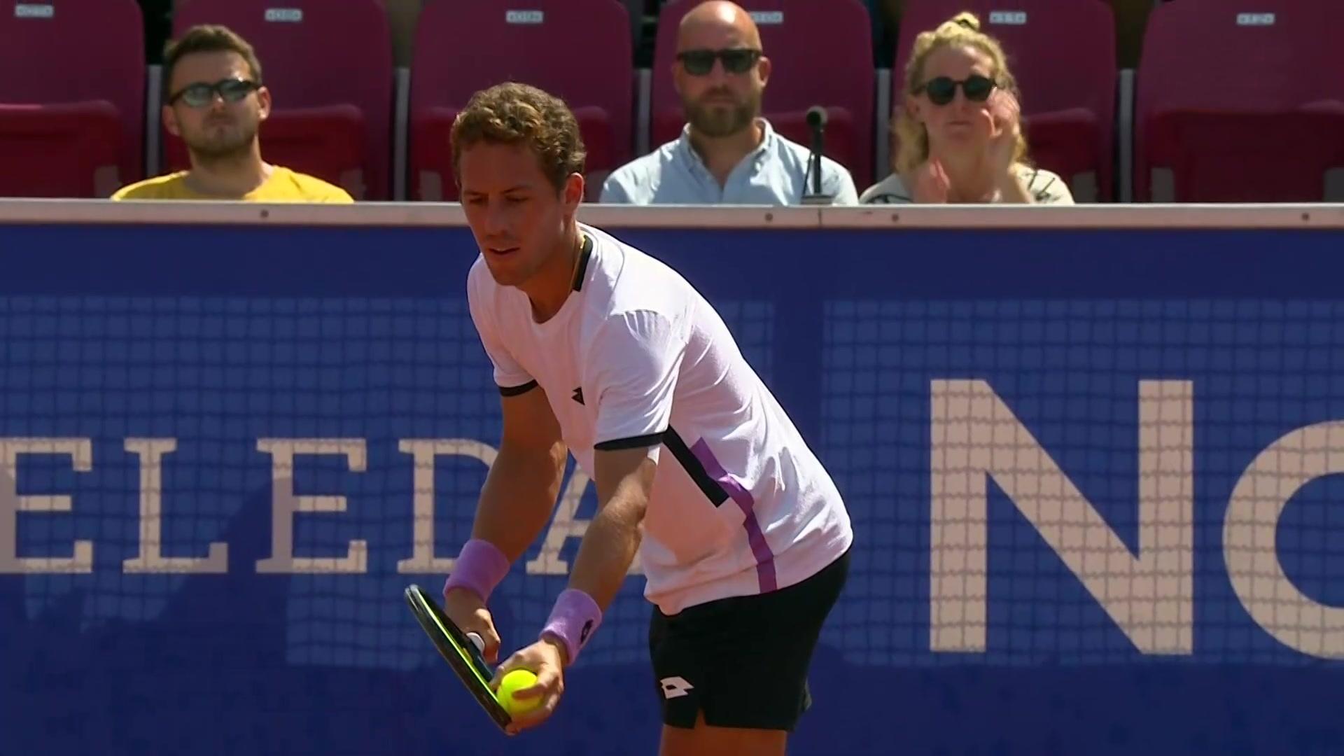 ATP 250 Torneo Bastad: F. Fognini - R. Carballés Baena