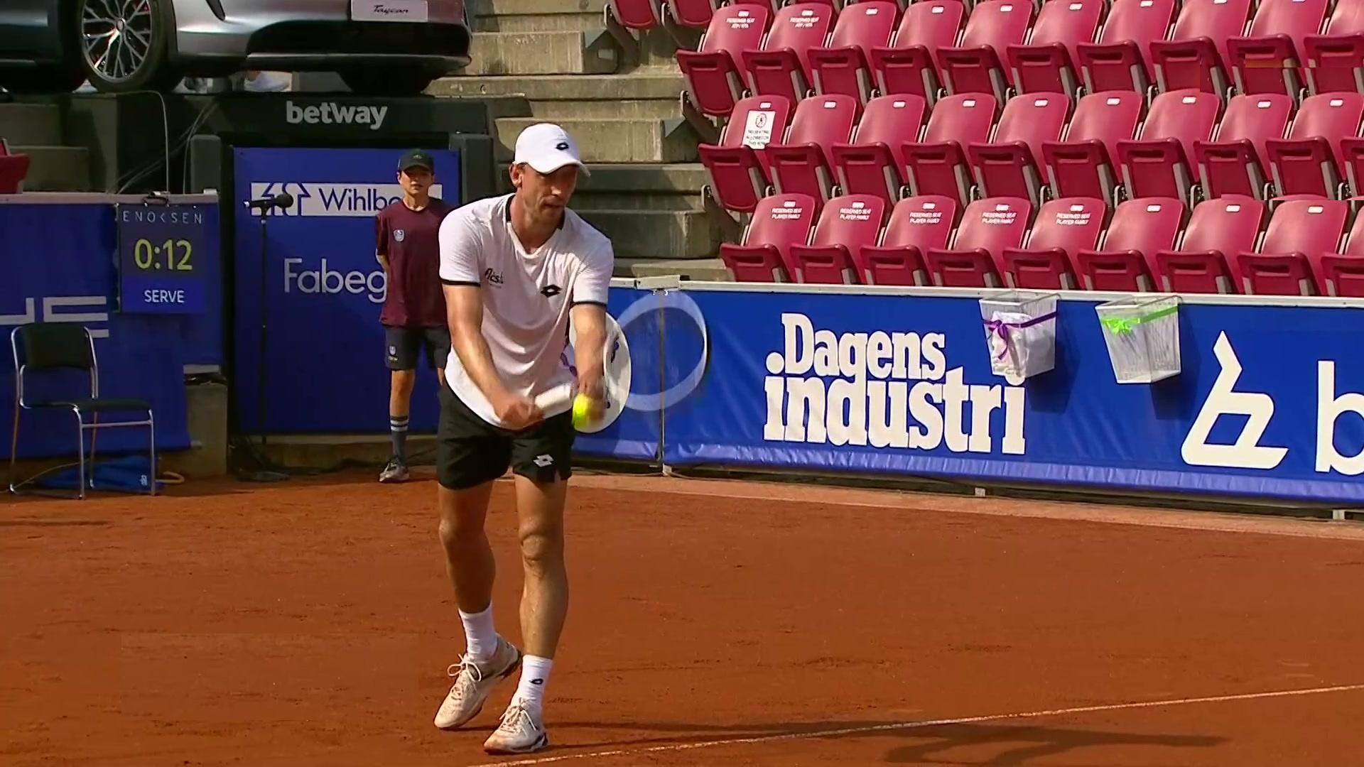 ATP 250 Torneo Bastad: Rinderknech - Millman