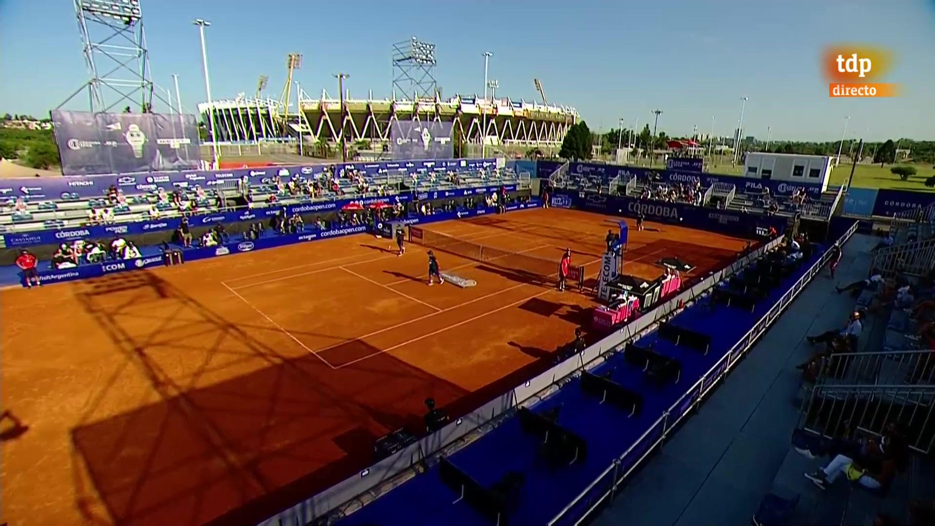 ATP 250 Torneo Córdoba: J. M. Cerúndolo - M. Kecmanovic