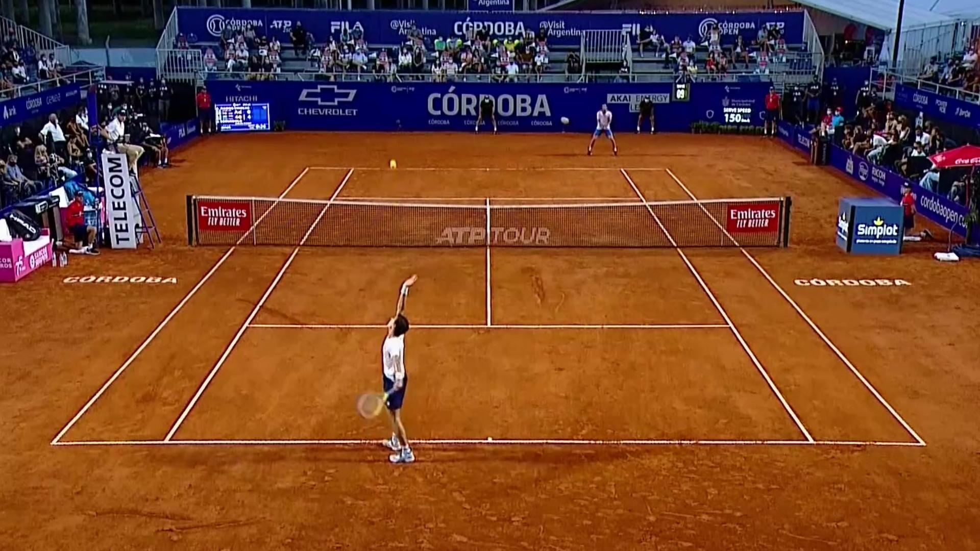 ATP 250 Torneo Córdoba. Final: A. Ramos - J.Cerúndolo