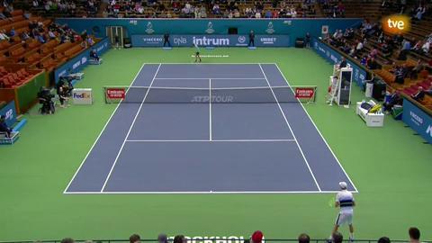 ATP 250 Torneo Estocolmo. 1/4 Final: Carreño Busta - Querrey