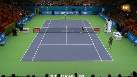 ATP 250 Torneo Estocolmo: Fognini - Tipsarevic