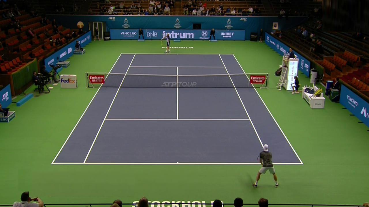 ATP 250 Torneo Estocolmo: Sam Querrey - Dennis Novak