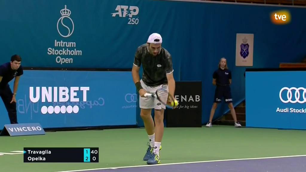 ATP 250 Torneo Estocolmo: Travaglia - Opelka