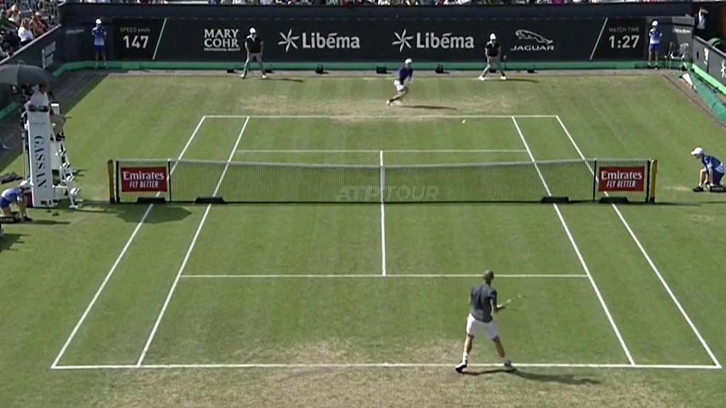 ATP 250 Torneo Hertogenbosch Final: J.Thompson - A.Mannarino