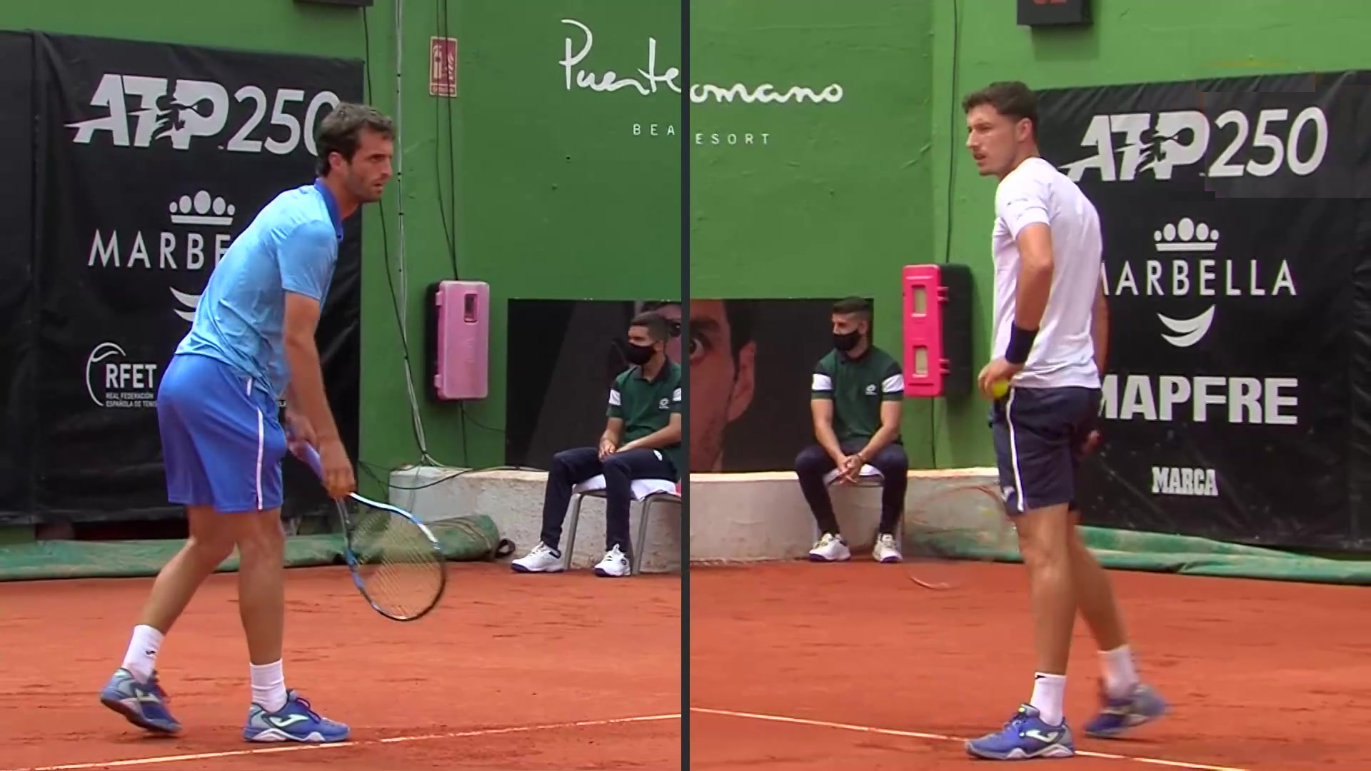ATP 250 Torneo Marbella, 1ª semifinal: P. Carreño - A. Ramos