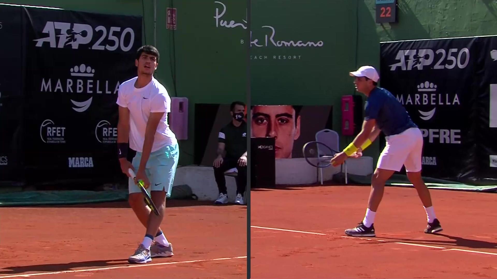 ATP 250 Torneo Marbella, 2ª semifinal: C. Alcaraz - J. Munar
