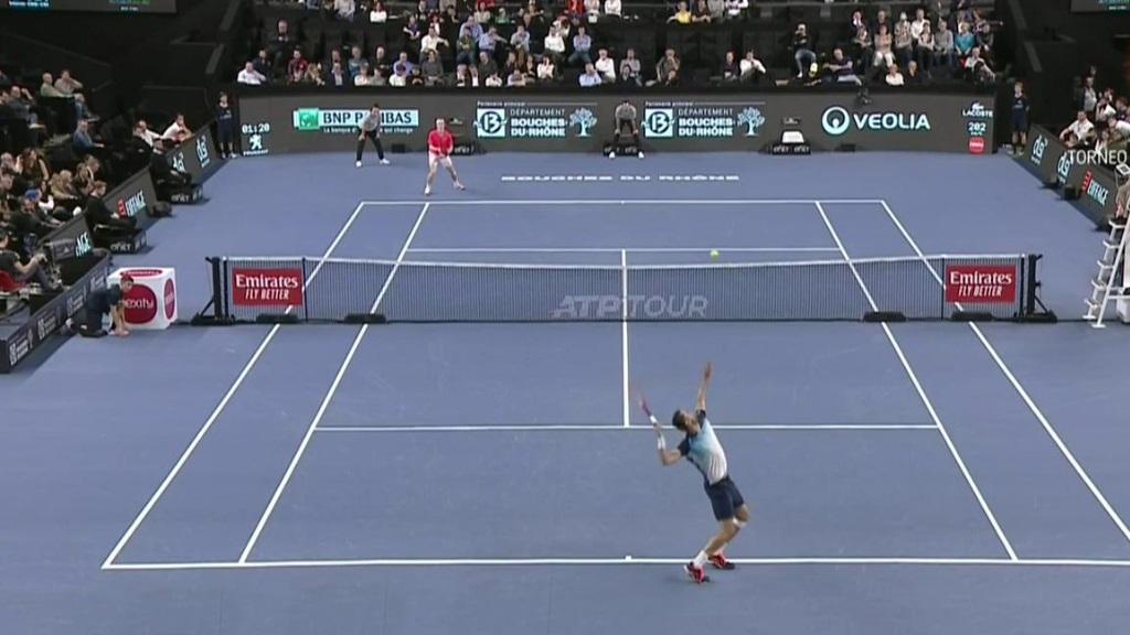 ATP 250 Torneo Marsella: M. Cilic - D. Shapovalov
