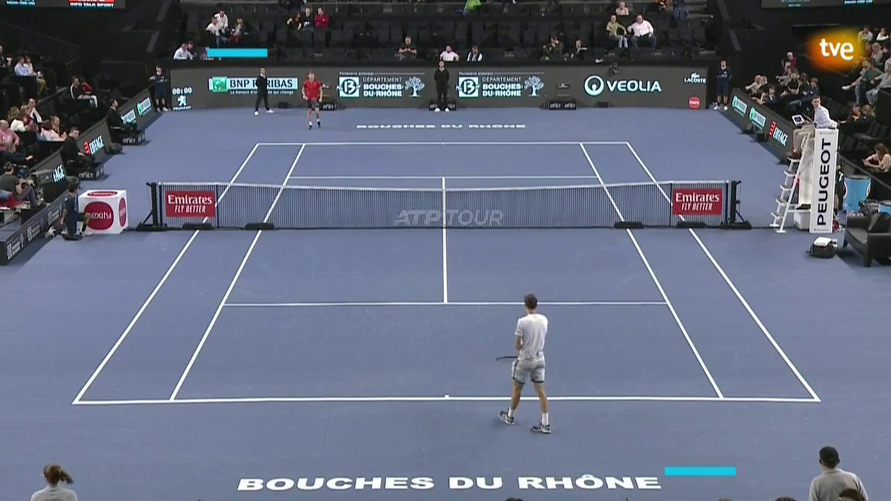 ATP 250 Torneo Marsella: D. Goffin - E. Gerasimov