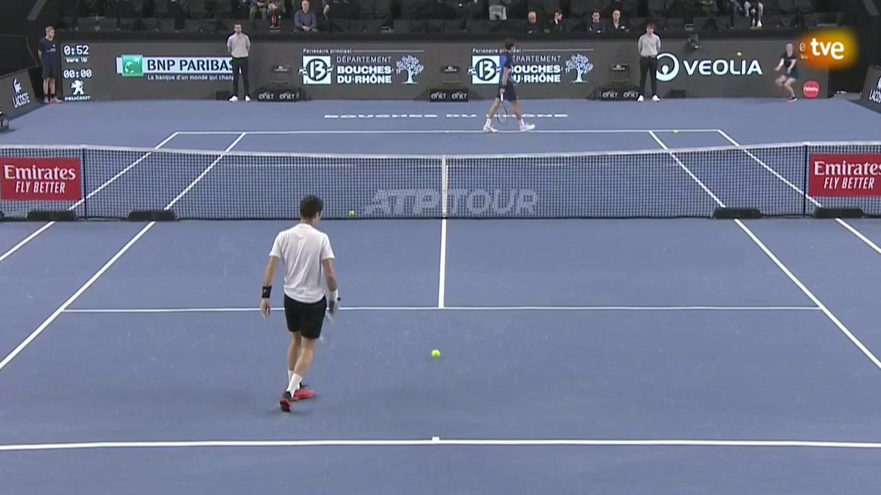 ATP 250 Torneo Marsella: M. Kukushkin - P.-H. Herbert