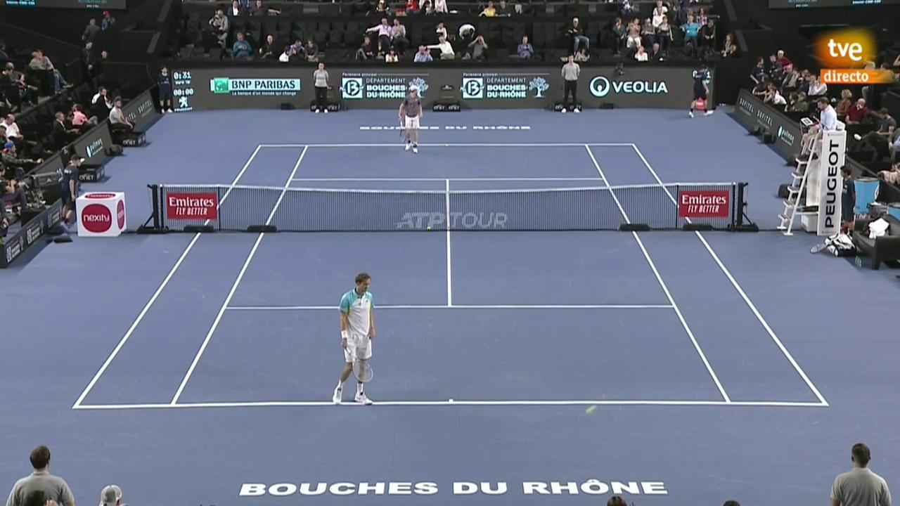 ATP 250 Torneo Marsella: D. Medvedev - J. Sinner
