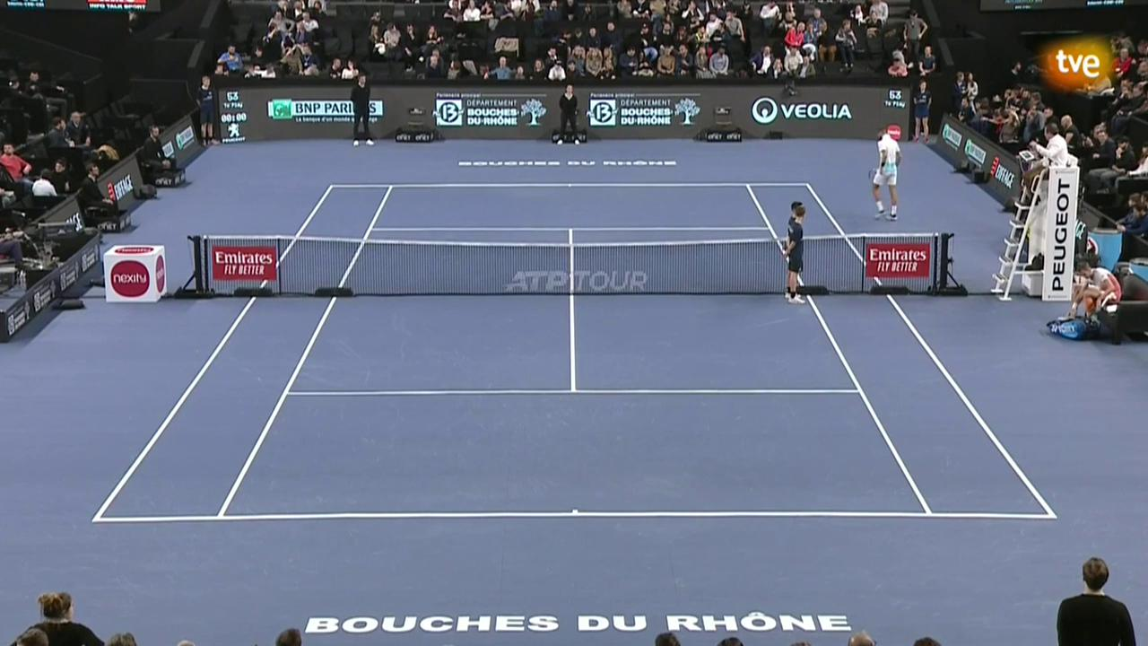 ATP 250 Torneo Marsella: B. Paire - A. Bublik