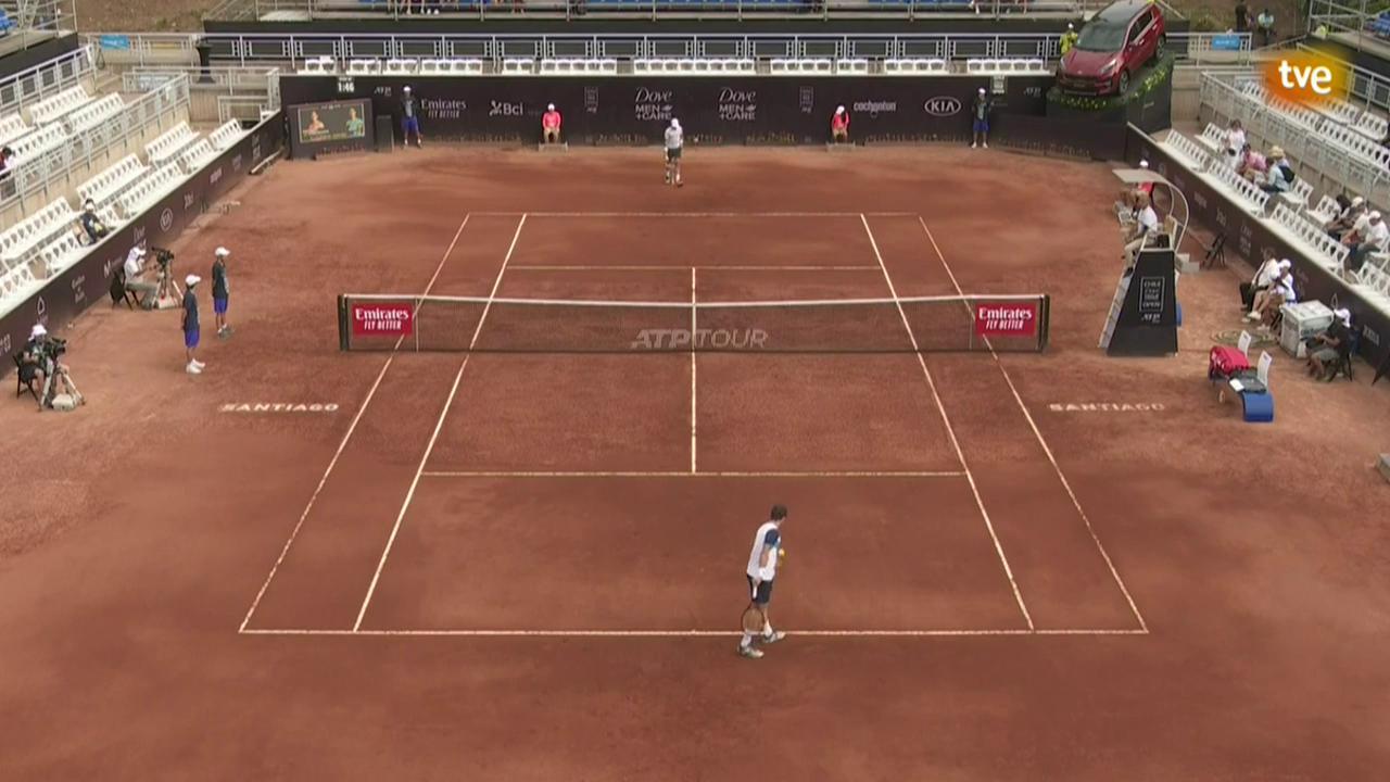 ATP 250 Torneo Santiago: R. Carballes Baena - J. Munar