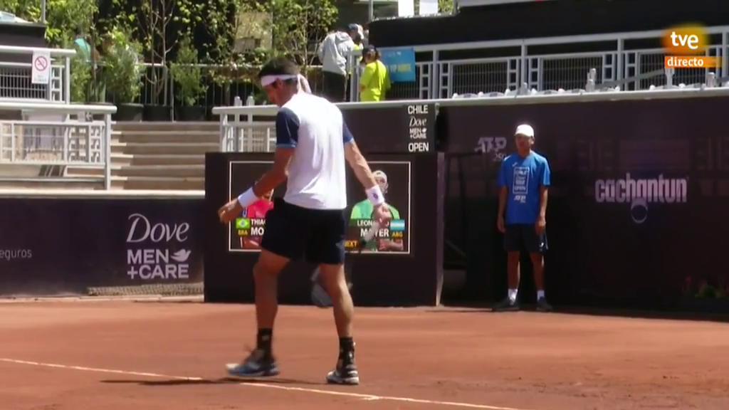 ATP 250 Torneo Santiago: T. Monteiro - L. Mayer
