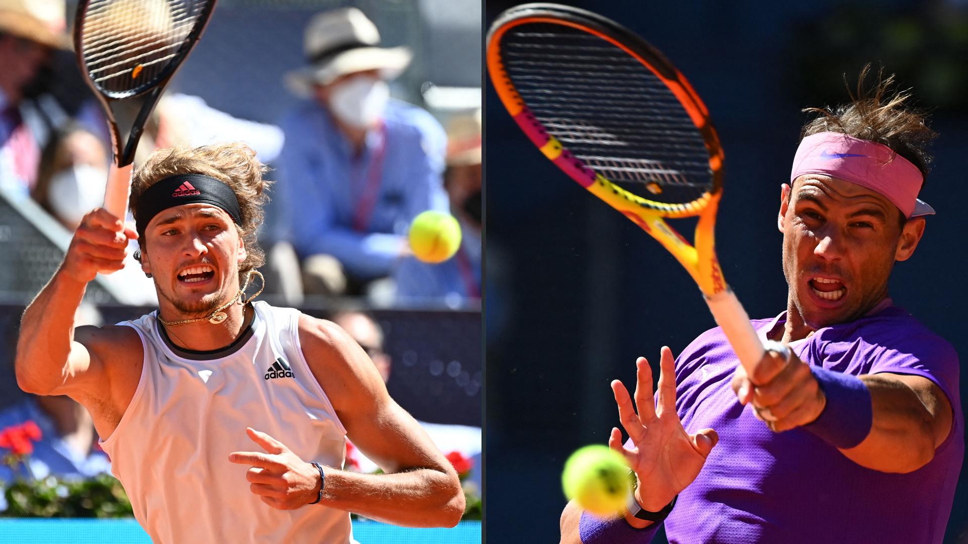 ATP Mutua Madrid Open. 1/4 Final: R. Nadal - A. Zverev