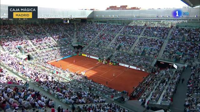 ATP Mutua Madrid Open. Final: N. Djokovic - S. Tsitsipas