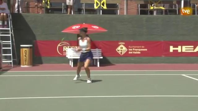 Liga Mapfre tenis fem. 2ª Semi. (Les Franqueses del Vallés)