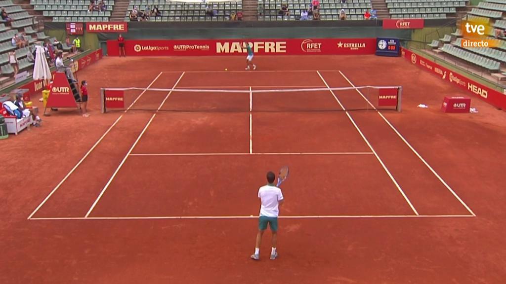 Liga Mapfre de tenis masculino. 3ª Jornada, 2º partido