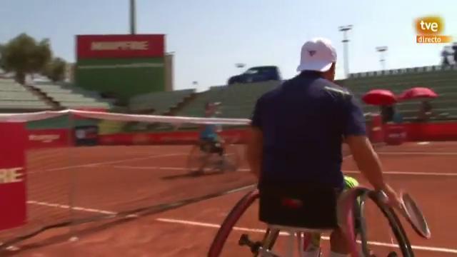 Liga Mapfre de tenis en silla de ruedas. Final