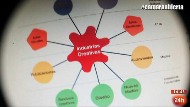 Cámara abierta 2.0 - Red de Industrias Creativas, The Objective, NonaBox y Tomasito en 1minutoCOM - 12/04/14