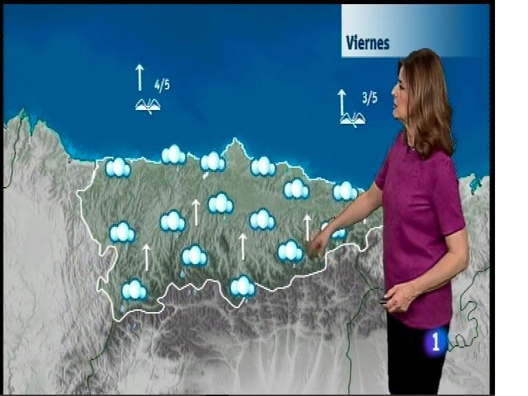El tiempo en Asturias - 08/03/17