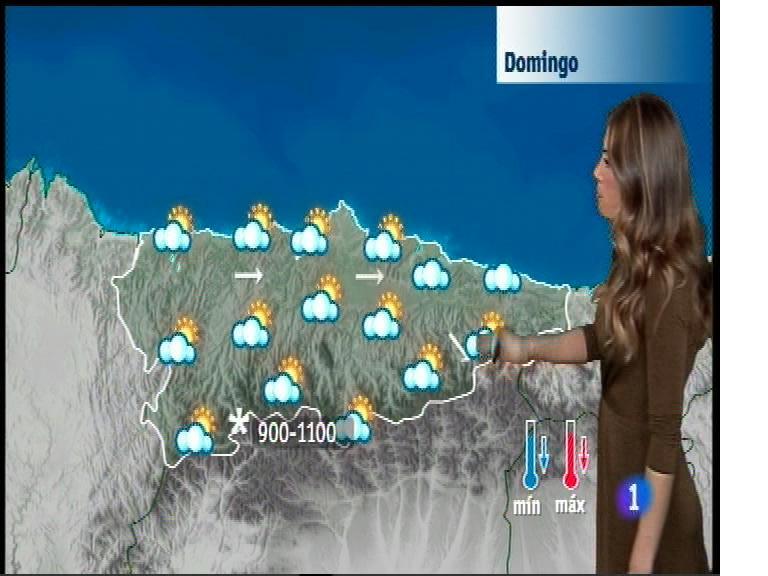 El tiempo en Asturias - 12/01/18