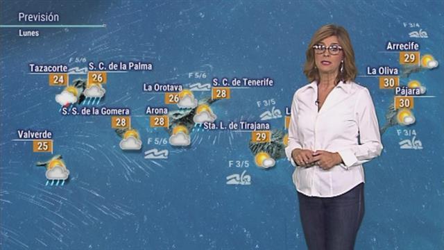 El tiempo en Canarias - 08/10/2018