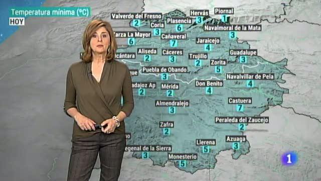El tiempo en Extremadura - 12/02/19