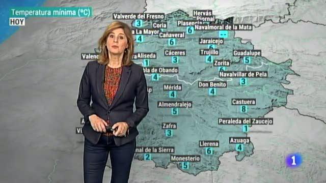 El tiempo en Extremadura - 13/02/19