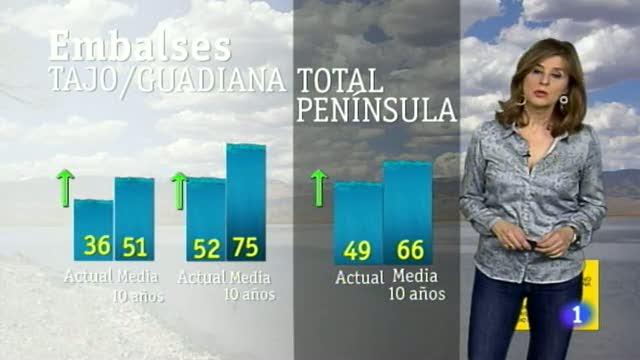 El tiempo en Extremadura - 14/03/18