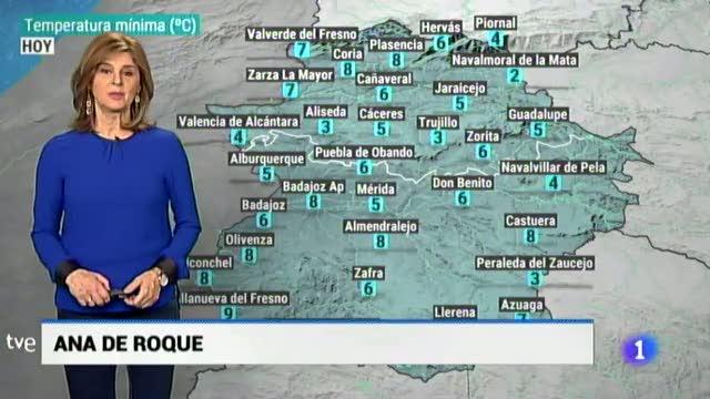 El tiempo en Extremadura - 19/02/19